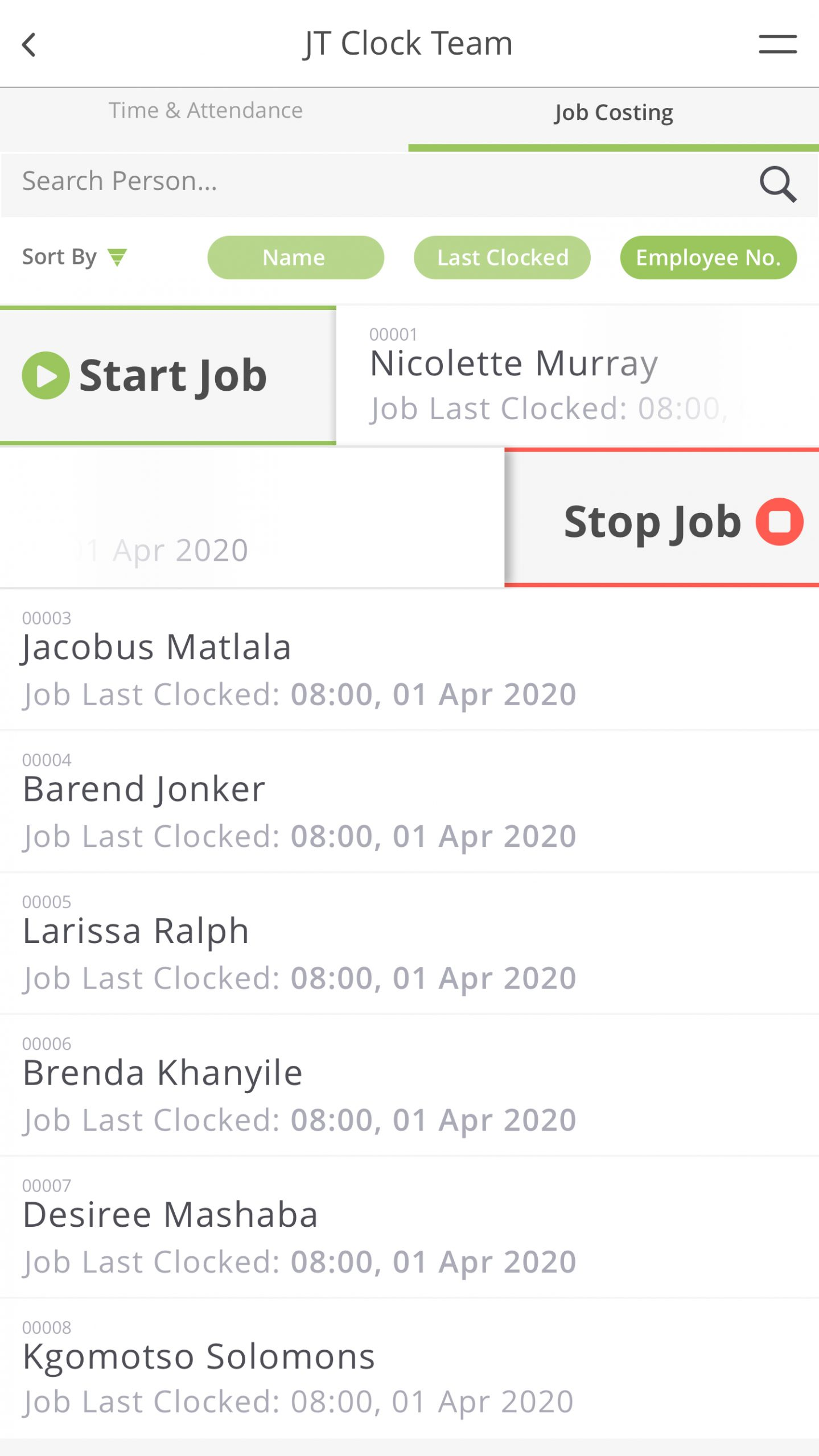 Clock Team Job Slide scaled